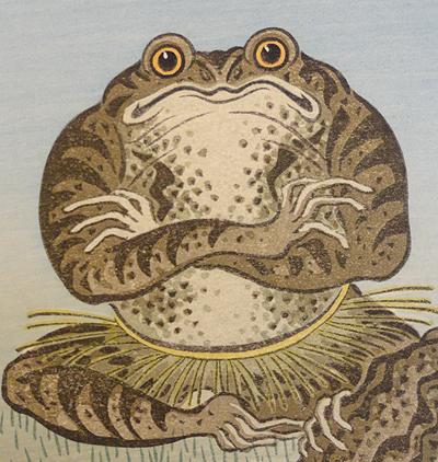 Frog yokozuna
